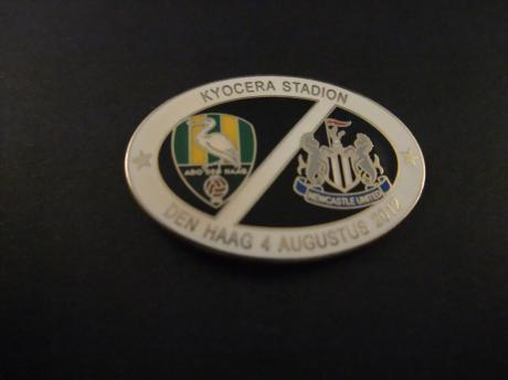 Ado  Den Haag-Newcastle United  Kyocera stadion(nu Cars Jeans Stadion) 4 augustus 2012 witte rand