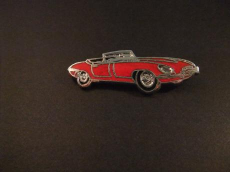 Jaguar E-Type Roadster Series 1 rood