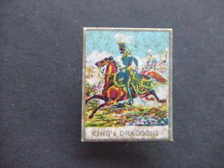 King's Dragoon cavalry regiment in the British Army