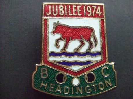 Headington Bowls Club, Oxfordshire. jubilee 1974 Oxford Engeland