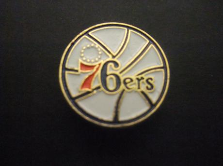 Philadelphia 76ers basketbalteam Pennsylvania logo