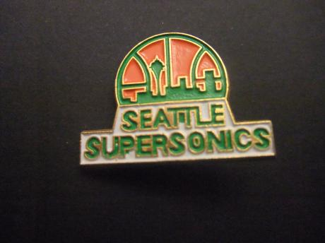 The Seattle SuperSonics basketbalteam NBA